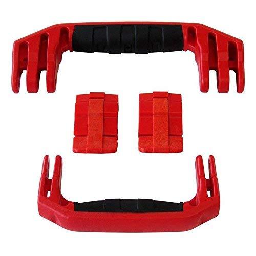 交換用の赤いハンドル2つ / 赤いラッチ2つ Pelican 1510または1560用 Pelicanケースをカスタマイズ B01KNSU6MU