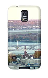 Premium Washington Dc City Back Cover Snap On Case For Galaxy S5