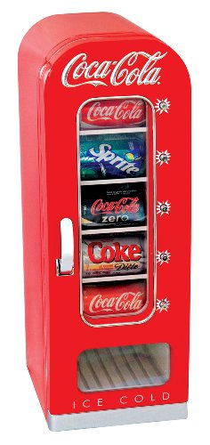 Coca Cola CVF18 10-Can Capacity Portable Vending Cooler