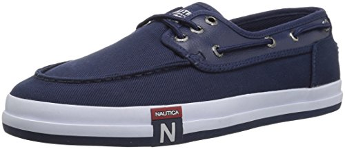 Nautica Men's Spinnaker III Boat Shoe, Peacoat Blue, 13 Medium US