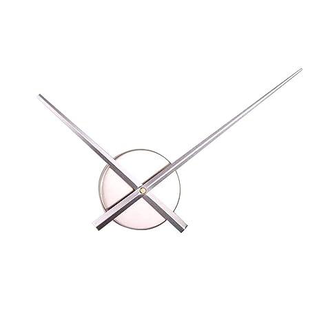 Vosarea Bricolaje Punto de Cruz Reloj Agujas Relojes de Pared 3D Home Art Decor Reloj de