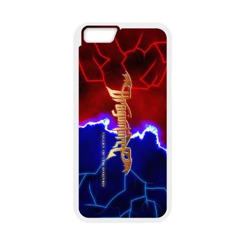 Dragonforce 007 coque iPhone 6 4.7 Inch Housse Blanc téléphone portable couverture de cas coque EOKXLLNCD19125