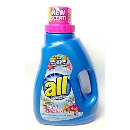Amazon com: All Island Dreams Liquid Laundry Detergent - 33 Loads