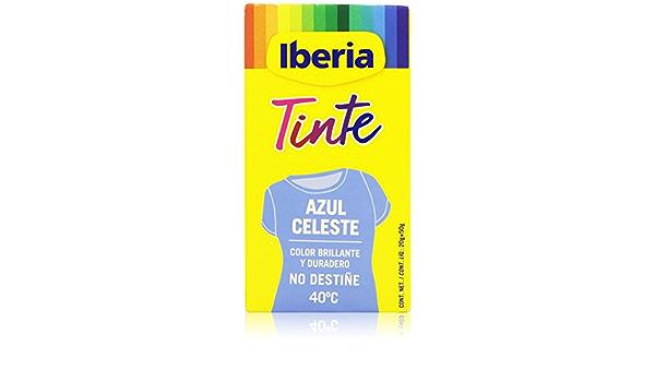 Iberia Tinte para Ropa Azul Celeste - 70 gr: Amazon.es: Salud ...
