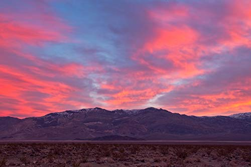 - Sunrise Over Panamint Springs California Fine Art Photograph Death Valley