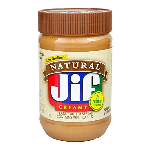 Sodium Creamy (Jif Creamy Omega-3 Peanut Butter, 16 oz)