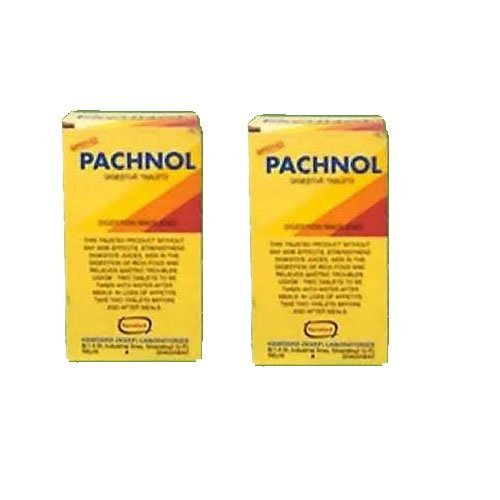 2 x Hamdard Pachnol Tablets (50 Tablets)- Expedited international delivery