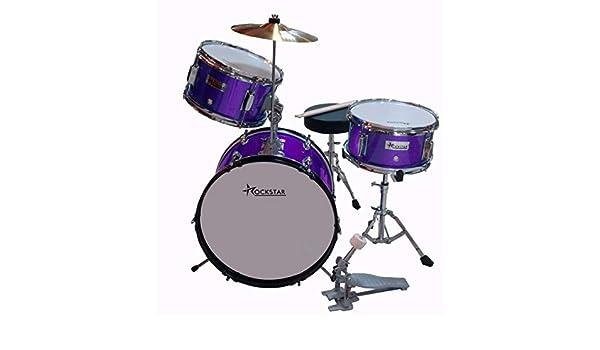 Rockstar GC1042 Morada Bateria Infantil: Amazon.es: Instrumentos musicales