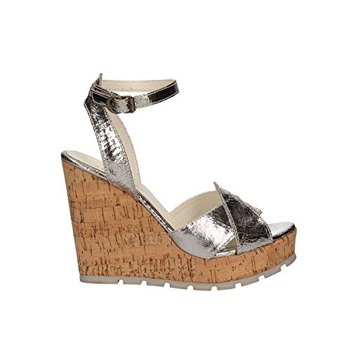 Sandal new color high summer 2017 silver nbsp;FRT47 collection wedge Apepazza spring with Bx4T5Sw1q