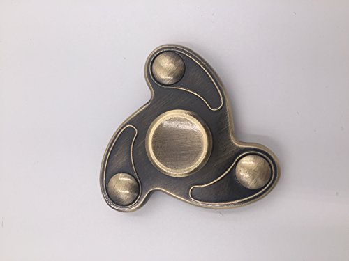 Abahub Figer Spinner Toy Fidget ,Spin 3 Min Super Smooth and