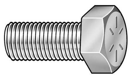 5 pk. 3//4-10 x 1-3//4 Grade 8 Plain Hex Head Cap Screw