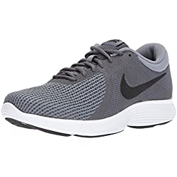 Nike Men's Revolution 4 Running Shoe, Dark Black-Cool Grey/White, 10.5 Regular US