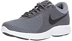 Minimal in design, Men's Nike Revolution 4 Running Shoe is made of lightweight, single-layer mesh for breathability and soft foam beneath the foot for revolutionary comfort and responsiveness.
