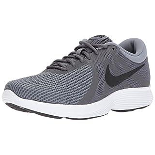Nike Men's Revolution 4 Running Shoe, dark grey/black - dark grey - white, 10.5 4E US