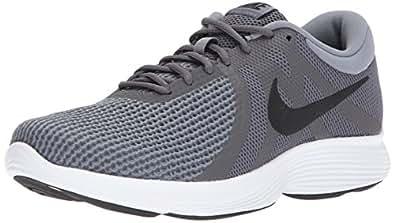 Nike Men's Revolution 4 Running Shoe, Dark Grey/Black-Cool Grey/White, 7 Regular US