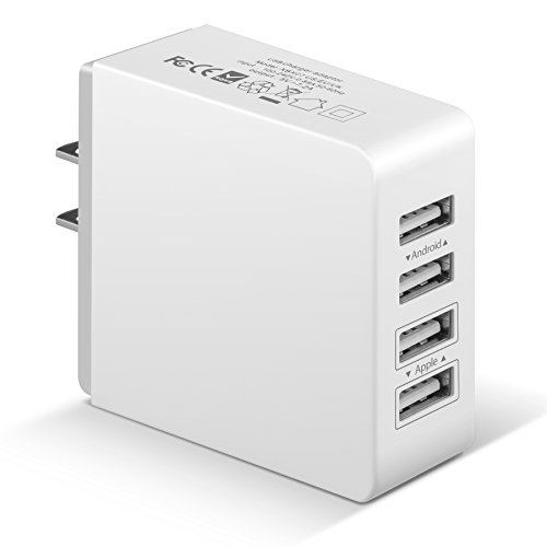 Charger 4 Port Family Sized Charger Technology