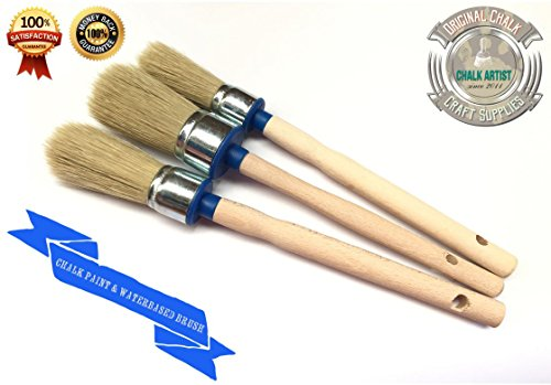 SALE synthetic bleached furniture paintbrushes