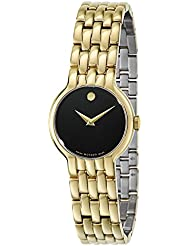 Movado Veturi Goldplated Stainless Steel Ladies Watch 0606935