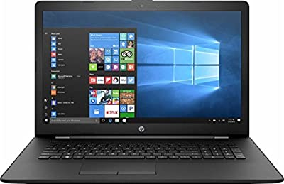 "HP 17.3"" HD+ Laptop Computer, AMD Dual-Core A9-9420 APU 3.0Ghz CPU, 4GB DDR4 RAM, 1TB HDD, AMD Radeon R5 Graphics, USB 3.1, DVDRW, Webcam, HDMI, Gigabit Ethernet, WIFI, Bluetooth, Windows 10"