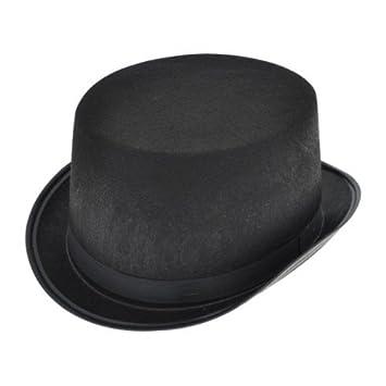 ab598849ac3 Hat Top Black Felt for Fancy Dress Party Accessory  Amazon.co.uk ...