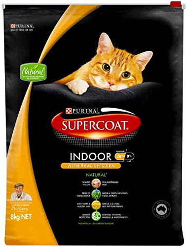 8kg Supercoat Adult Cat Indoor, 8kg