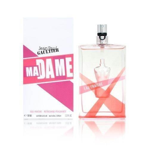 Madame by Jean Paul Gaultier for Women 3.3 oz Eau Fraiche Refreshing Fragrance Spray