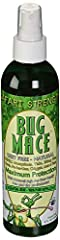 The Original Safari Strength - Best All Natural Mosquito Repellent Bug Spray - Powerful Organic Essential Oil Mosquito & Insect Repellent. BugMace is an all-natural, Pure organic* exotic blend of powerful essential oils proven to repel mo...