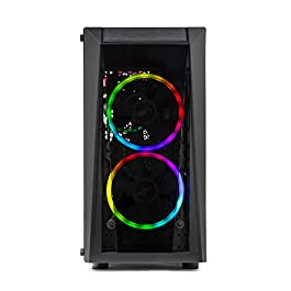 Skytech Blaze II Gaming Computer PC Desktop – RYZEN 7 2700X 8-core 3.7 GHz, RTX 2060 Super 8G, 500GB SSD, 16GB DDR4…
