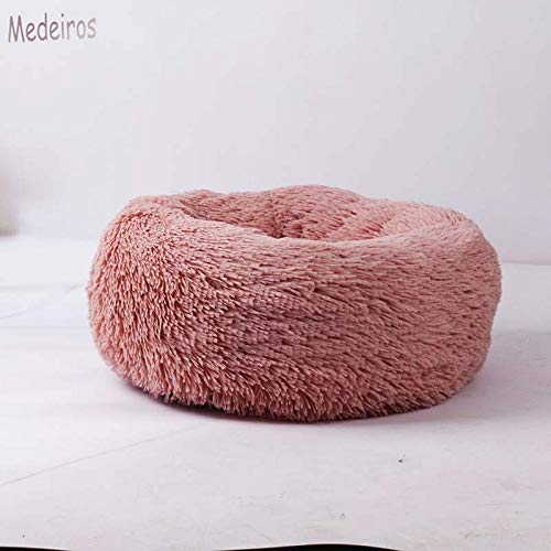 CARBE kennelDeep Sleep Dog House Kennel Round Nest Autumn Winter Cat Mattress For Small Medium Dogs Diameter 70cm 07