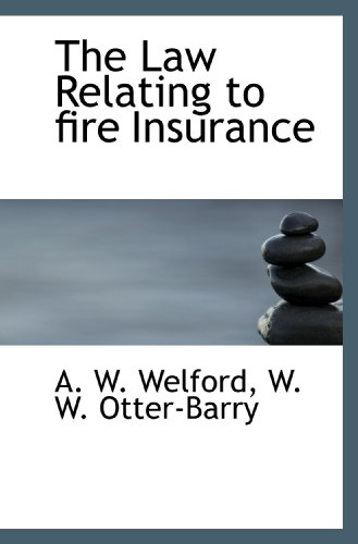 Download The Law Relating to fire Insurance Pdf