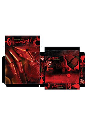 Freddy Accessories Krueger (A Nightmare On Elm Street Freddy Krueger Makeup Kit, Brown, One)