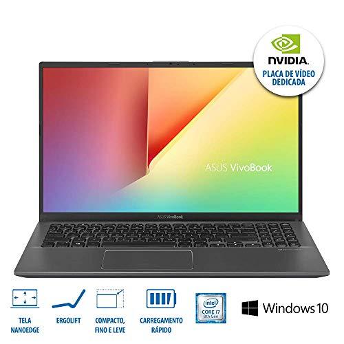 Notebook ASUS VivoBook X512FB-BR468T - CORE I5 / 8 GB / 1 TB / Cinza Escuro