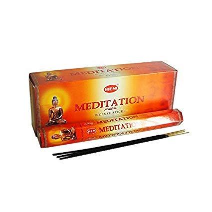 120 Incense Sticks Bulk Pack, HEM, Zen Aromatherapy, 6 Boxes of 20 Sticks Meditation