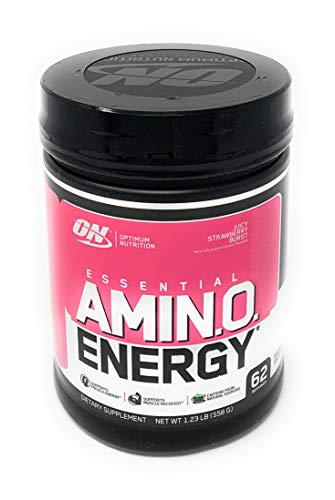 Optimum Nutrition Strawberry Preworkout Postworkout