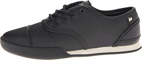 Macbeth Men's Gatsby Black/Cement/Premium Synthetic Leather Sneaker 10 D (M)