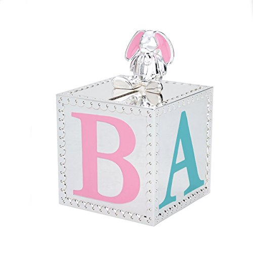 Reed & Barton Gingham Bunny Bank