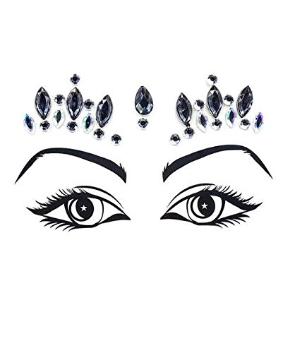 iHeartRaves Twilight Princess Festival Face Jewels Beauty Crystal Gem Stickers for $<!--$12.95-->