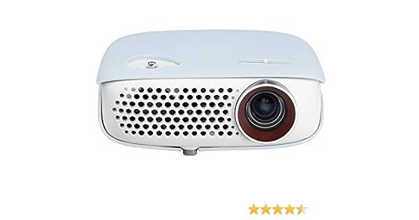 LG PW800 - Proyector Minibeam Portátil (WXGA, LED, 1280 x 800, Contraste 100,000:1, 800 lúmenes) - Blanco