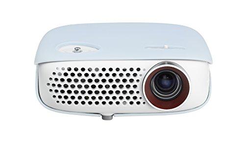 LG PW800G LED-Projektor (WXGA, Kontrast 100000:1, 1280 x 800 Pixel, 800 ANSI Lumen, HDMI, USB) weiß