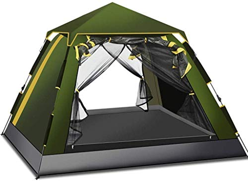 LFDHSF Camping Tent 3-4 Person Double Layer Aluminum Poles Lightweight Waterproof Outdoor Hiking Tent For Outdoor…