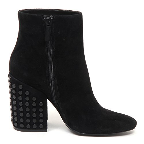 Kendall and Kylie E0456 Tronchetto Donna Nero Suede Boot Shoe Woman Nero