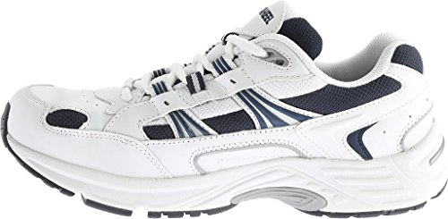 Orthaheel Men's, Walker Lace-up Shoe WHITE NAVY 8.5 M UK Size : 7.5