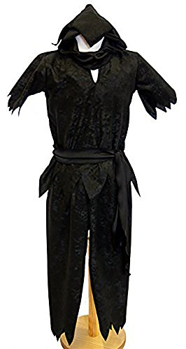 [Stage-Dance-World Book Day-Pantomime PETER PAN SHADOW Men's Fancy Dress Costume - ALL SIZES (AGE] (Halloween Costumes Age 12 Uk)