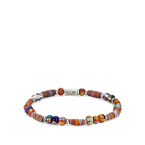 John Hardy Classic Chain Small Borneo Beaded Bracelet, Multi Color
