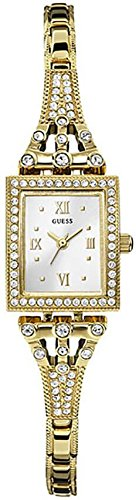 GUESS Women's W0430L2 Classic Gold-Tone Jewelry Inspired Watch