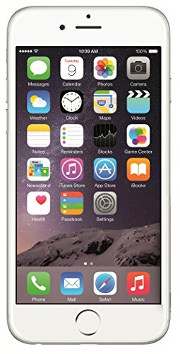 Apple iPhone 6, GSM Unlocked, 16 GB Unlocked, Silver (Refurbished)