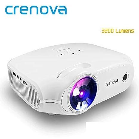 CRENOVA - Proyector de vídeo Full HD para Cine en casa con HDMI ...