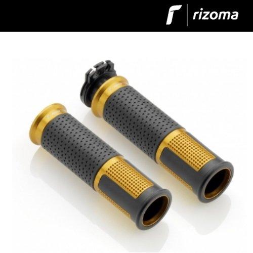 RIZOMA GR213G LUX Billet Aluminum Universal Grips (GOLD)