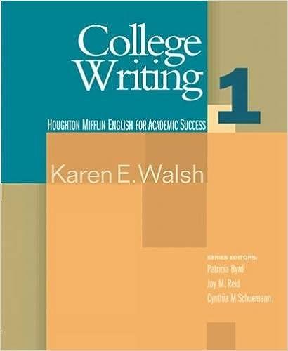 Essentials of Teaching Academic Writing  Houghton Mifflin English