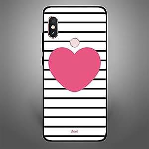 Xiaomi Redmi Note 5 Pro Pink Heart stripes